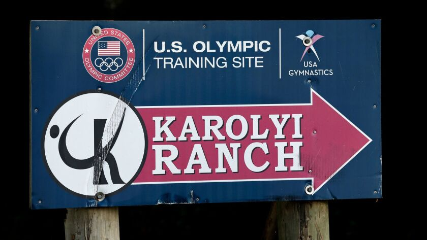 Some of Larry Nassar's victims say they were assaulted while training at the Karolyi Ranch, a longtime USA Gymnastics training site in Huntsville, Texas.