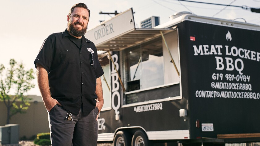 User Upload Caption: Brad Lyons is back in the barbecue seat with Meat Locker BBQ.