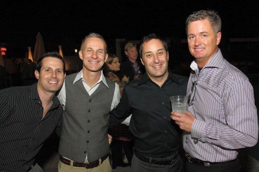 Mike McGuire, Todd McGuire, Darren Malet and Daniel Greer. Photos by Jon Clark
