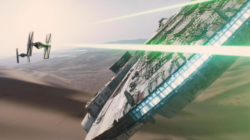 Fans rejoice: 'Star Wars: The Force Awakens,' the seventh 'Star Wars' movie, previews Dec. 17 and hits theaters Dec. 18. (Lucasfilm Ltd. & TM)