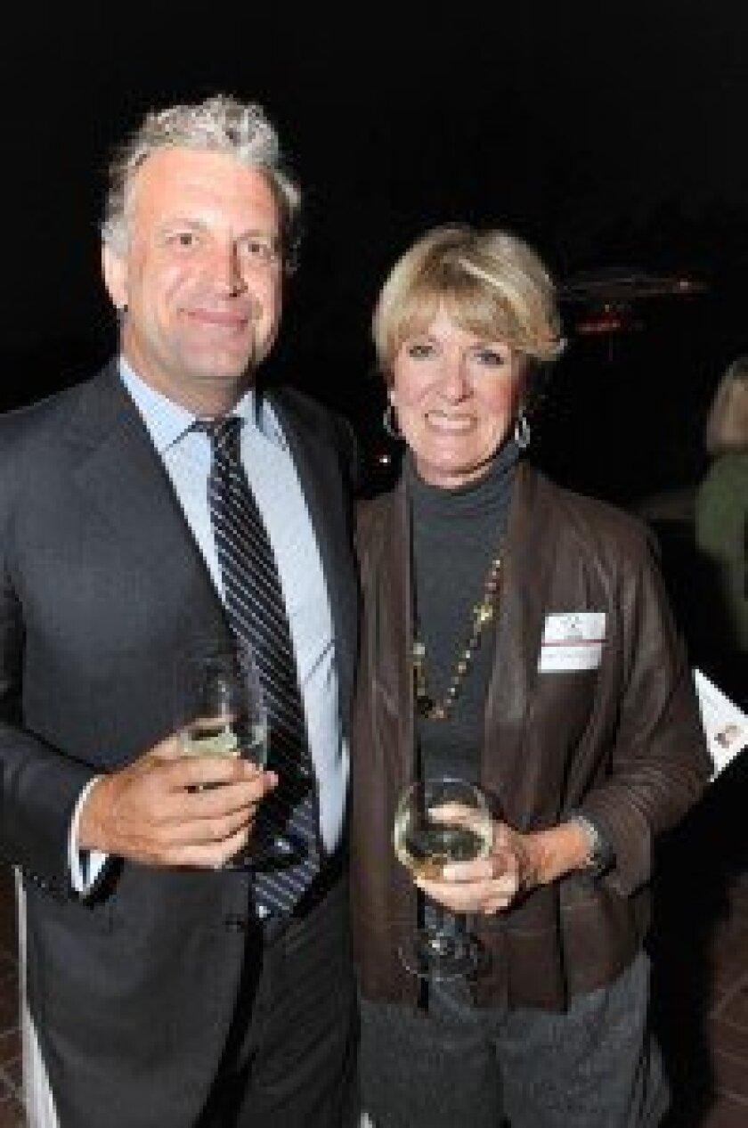 Dylan Ratigan and Janet Christ