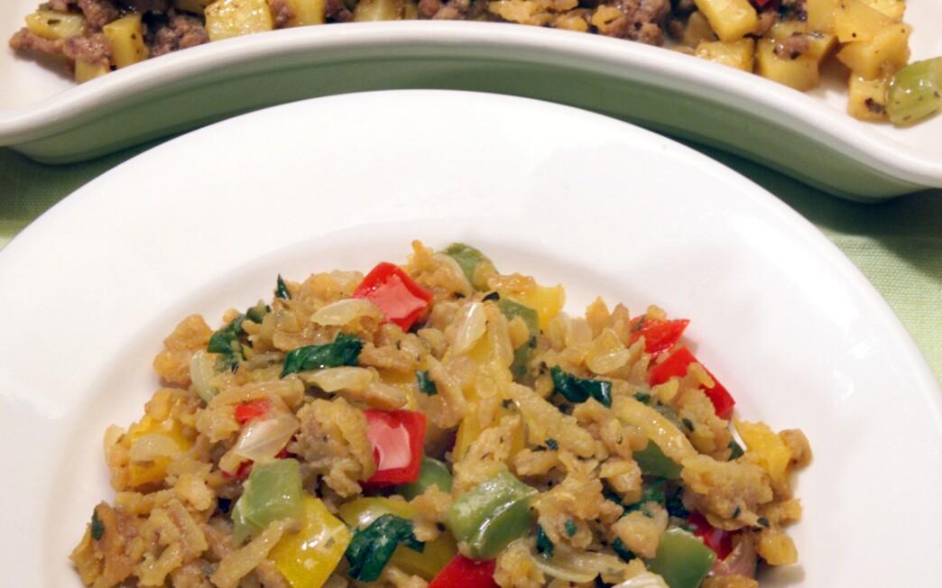 Potato Picadillo With Ground Meat (Picadillo de Papa con Carne Molida)