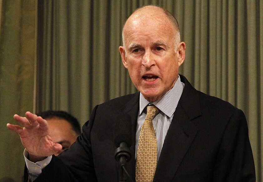 Brown wants to tie some funding of universities to new proposals