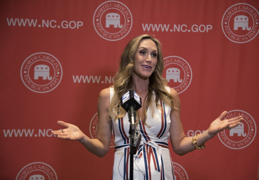 Lara Trump, the wife of President Trump's son Eric, was taped offering Omarosa Manigault Newman a $15,000-a-month gig in exchange for her not revealing info about her time in the White House.