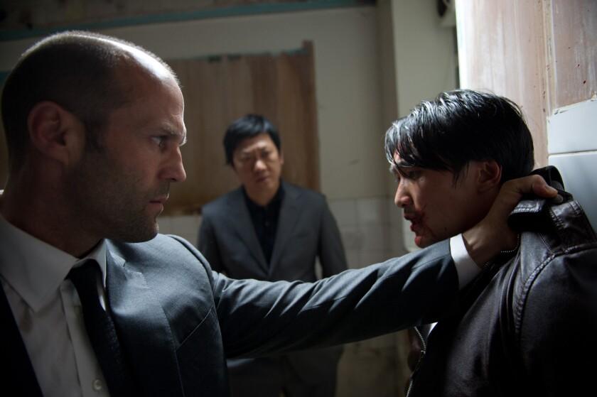 """Jason Statham stars in """"Redemption."""""""