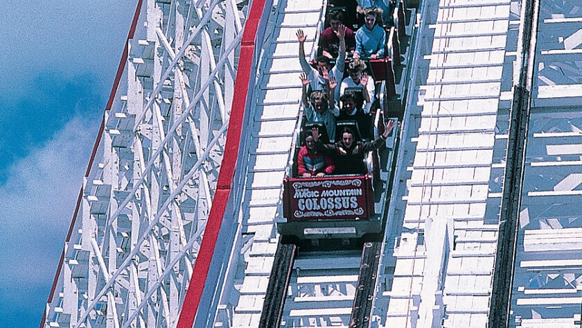 The 1978 Colossus wooden racing coaster will close on Aug. 16 to make way for a new attraction at Six Flags Magic Mountain.