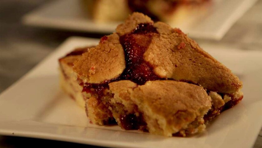House of Bread's berry bars