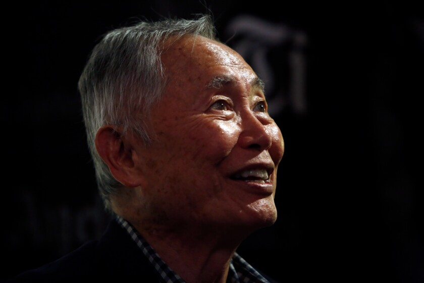 George Takei at the Los Angeles Times Book Club