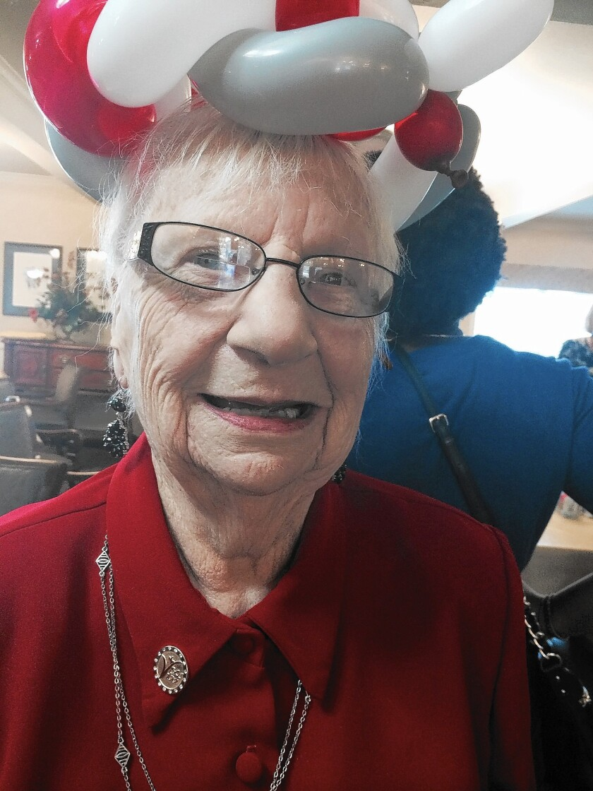 Agnes Thiers, of Newport Beach, turned 100 this week. She came to the United States from Wales when she was 9.
