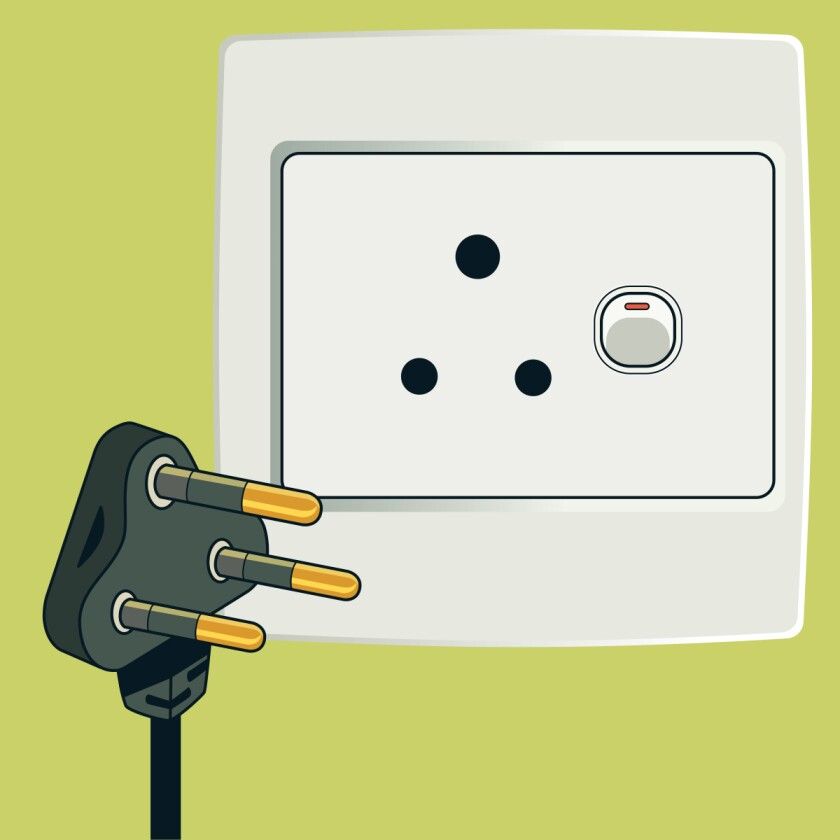 Type D plug and socket