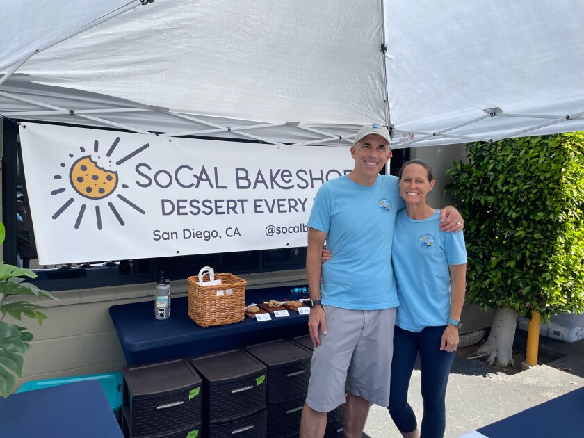Brian and Kathleen Daugherty of SoCal Bakeshop.