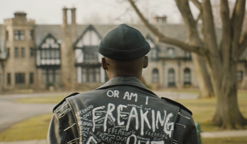 Ashton Sanders appears in <i>Native Son<i/>by Rashid Johnson, an official selection of the U.S. Dram