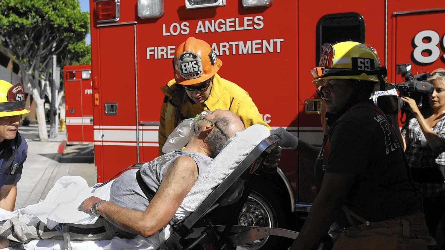 Column Should A Man Taken To The Er In An Ambulance Against His Will Have To Pay The Bill Los Angeles Times Instant sound effect button of call an ambulance but not for me. er in an ambulance against