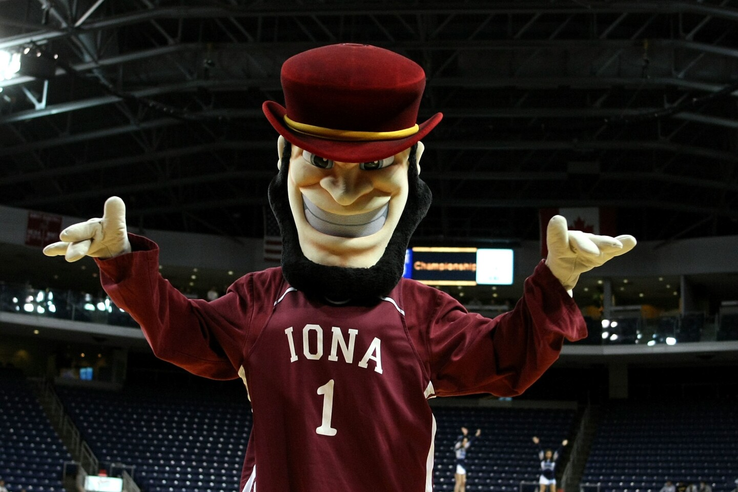 """Iona's nickname is the Gaels, a nod to the New Rochelle, NY, school's founders, the Irish Christian Brothers. The school website describes Killian as """"spunky,"""" but the adjective that more likely comes to mind for most people would be """"deranged."""""""