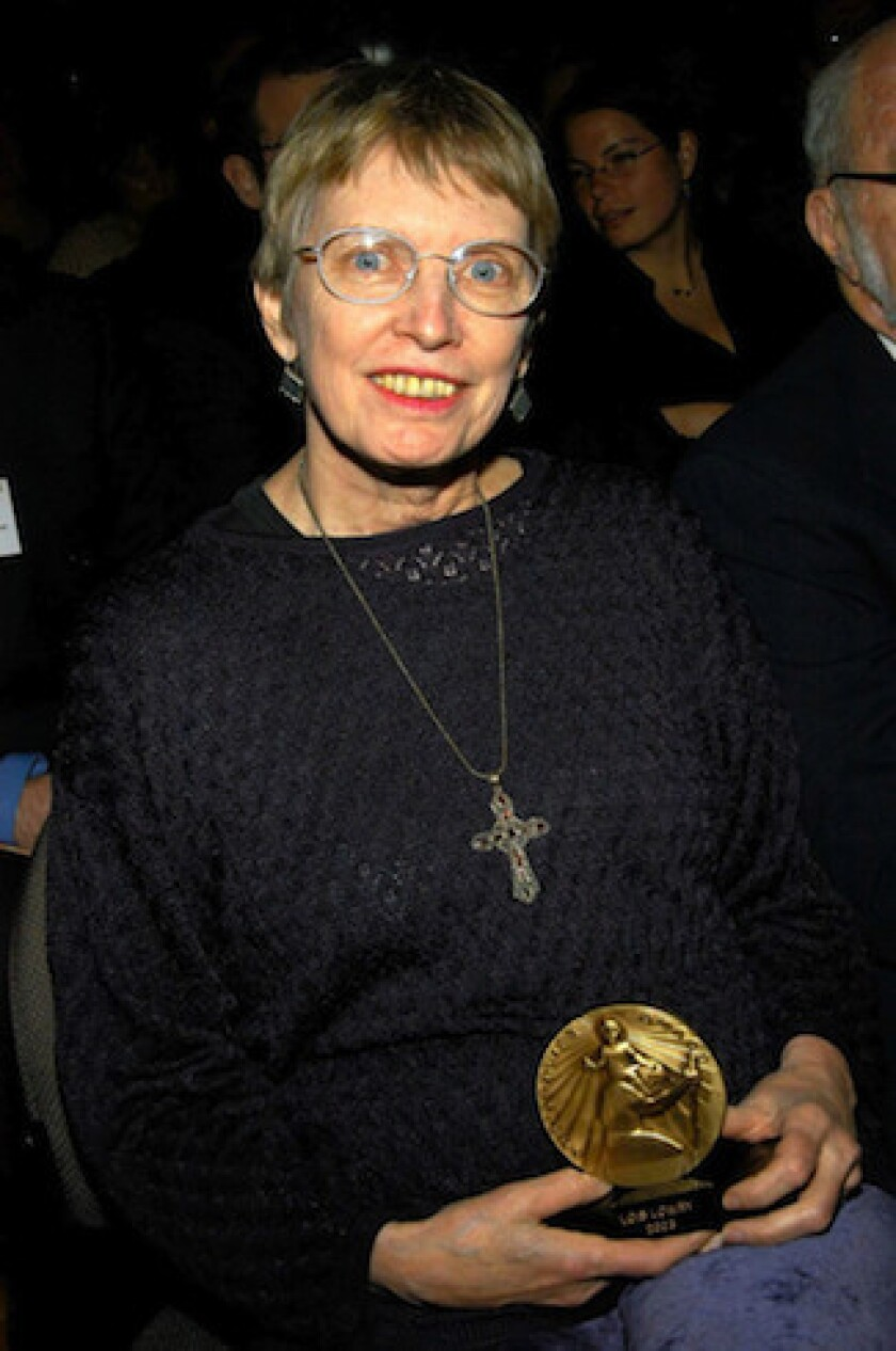 Author Lois Lowry