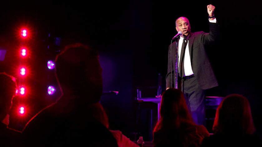 BEVERLY HILLS, CA. OCT. 11, 2017. Joe Morton starring in Turn Me Loose, a new comedic drama about th
