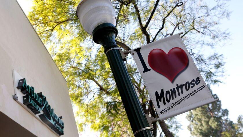 Honolulu Avenue welcomes shoppers in Montrose.