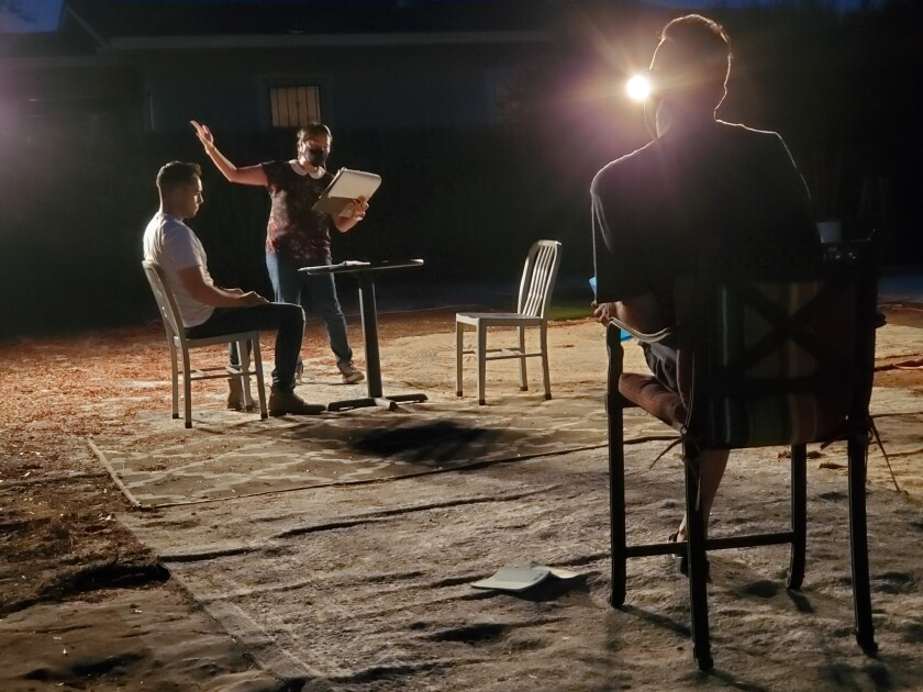 """OnStage Playhouse - """"All in the Timing"""" rehearsal"""
