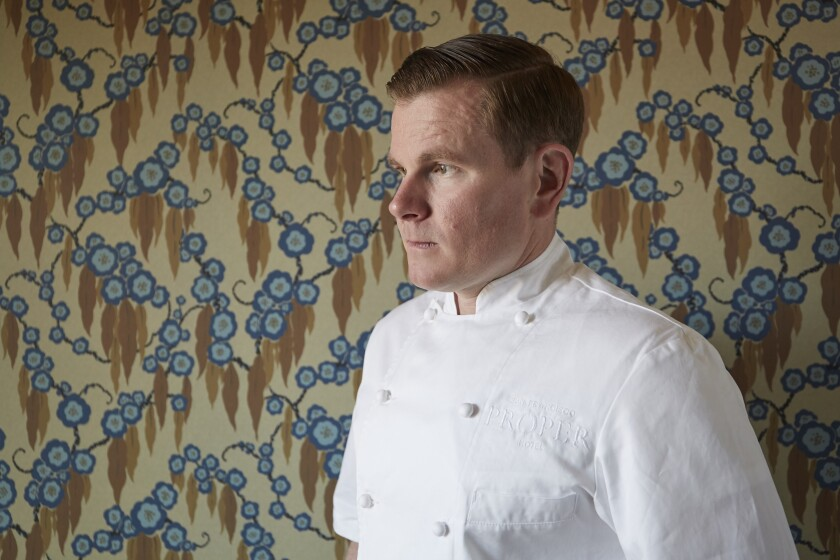 Jason Franey is the new executive chef at Juniper & Ivy restaurant in Little Italy.