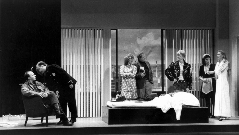 """The cast of Peter Sellars' production of Mozart's """"Le Nozze di Figaro"""" at Trump Tower in the '80s."""
