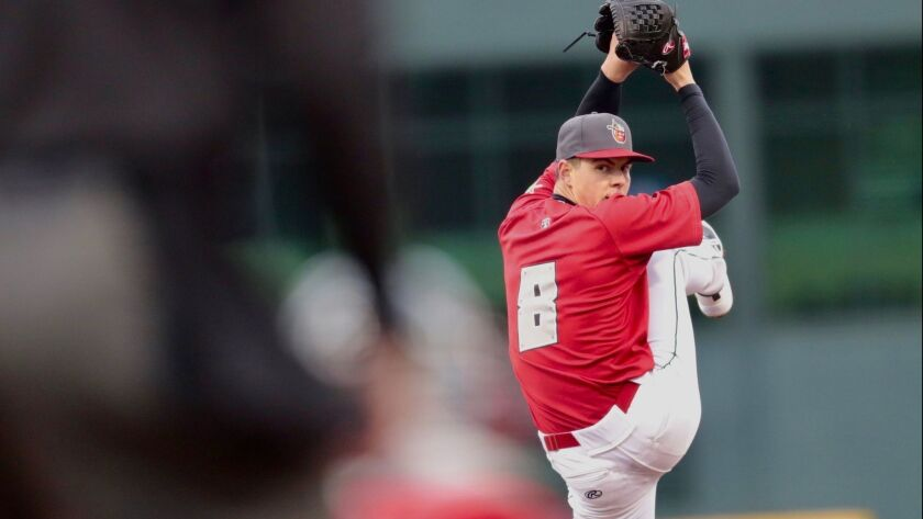 Padres pitching prospect MacKenzie Gore made his 2018 debut on April 10, 2018, at low Single-A Fort Wayne.