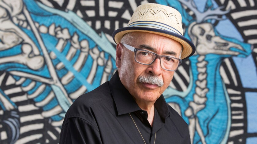 """U.S. Poet Laureate Juan Felipe Herrera has dedicated """"@ the Crossroads — A Sudden American Poem"""" to Alton Sterling, Philando Castile, the five slain officers and those injured in Dallas, and the victims' families."""