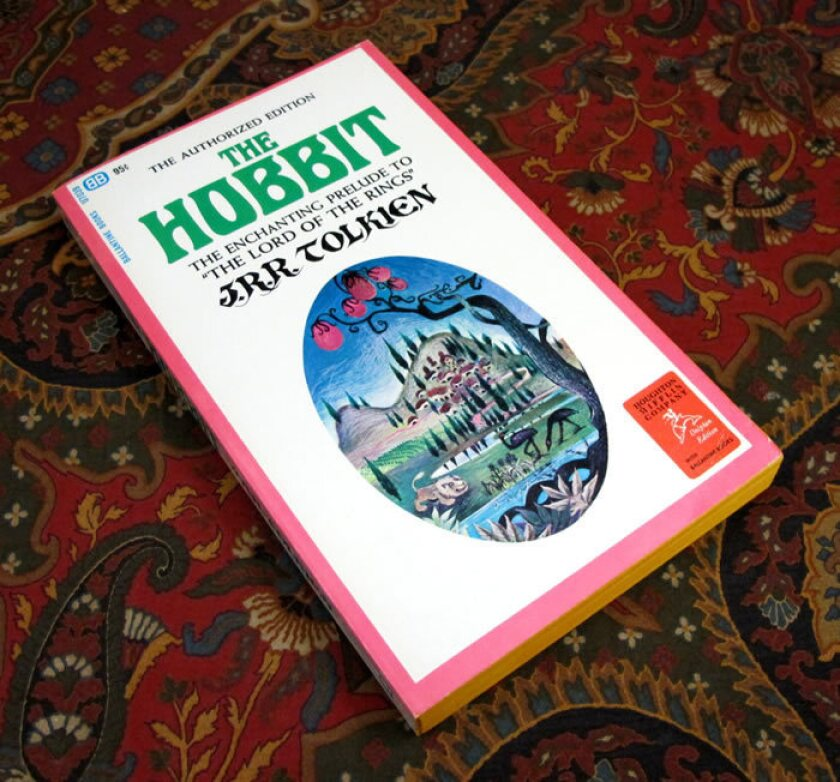"""A 1965 Ballantine paperback edition of """"The Hobbit."""""""