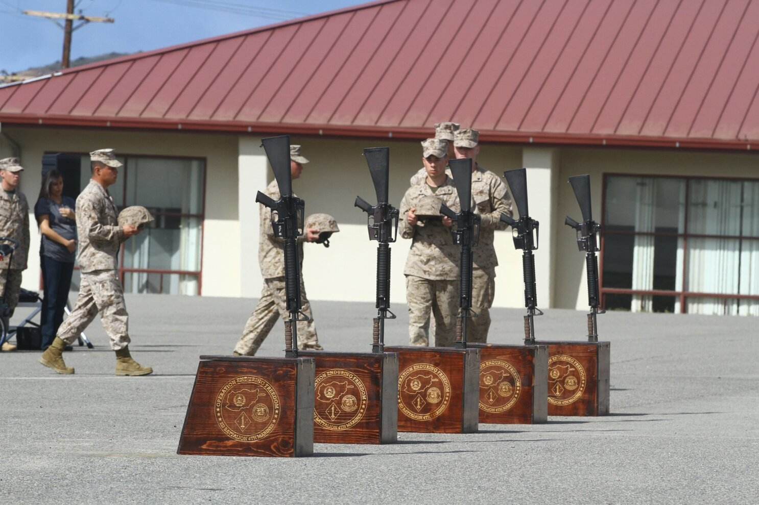 The bell tolls for five Marines - The San Diego Union-Tribune