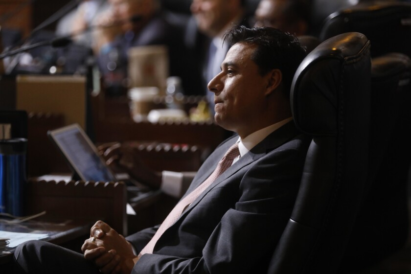 Los Angeles City Councilman Jose Huizar