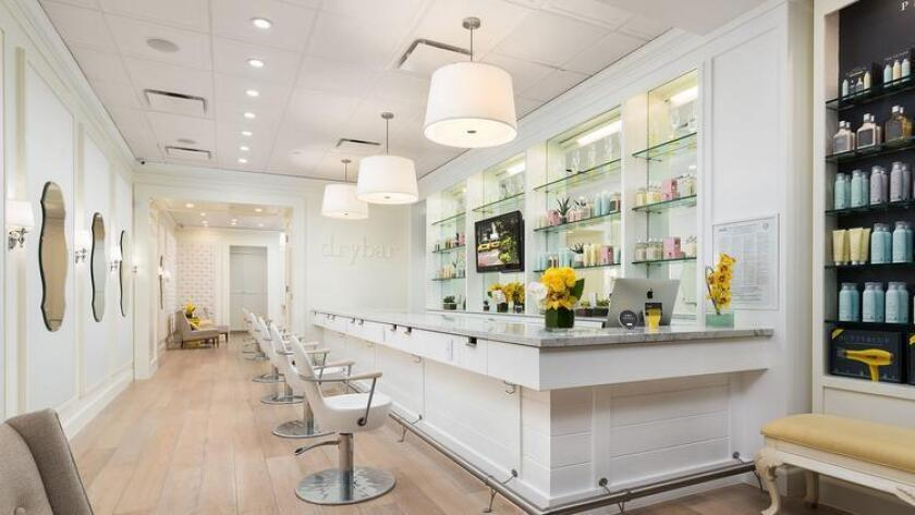 "The first Drybar opened in Brentwood in February 2010. Drybar has been named one of the top ""100 Brilliant Ideas of 2010"" by Entrepreneur Magazine and New York Magazine's Boom Brands of 2013. (Photo courtesy of Drybar)"