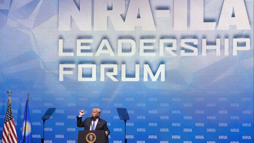 NRA shows signs of decline, even in Trump's America