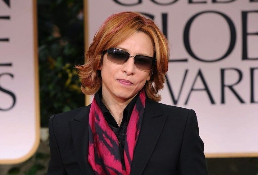 Yoshiki of X-Japan teases new Golden Globe theme song