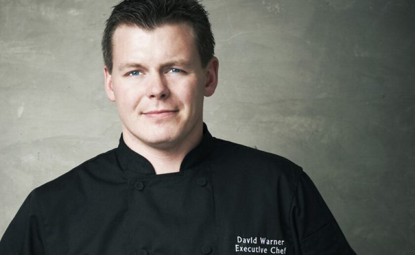 A big welcome back to JRDN's executive chef, David Warner.