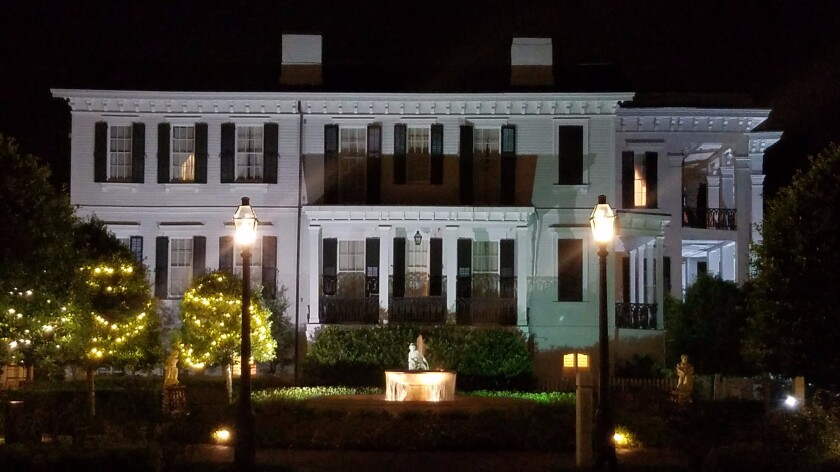 Some people are convinced that the 40-room Nottoway Plantation in White Castle, La., built in 1859, is haunted.