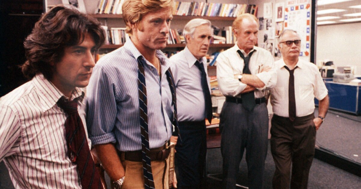 Movies on TV this week: March 8 - 14: 'All the Presidents Men'