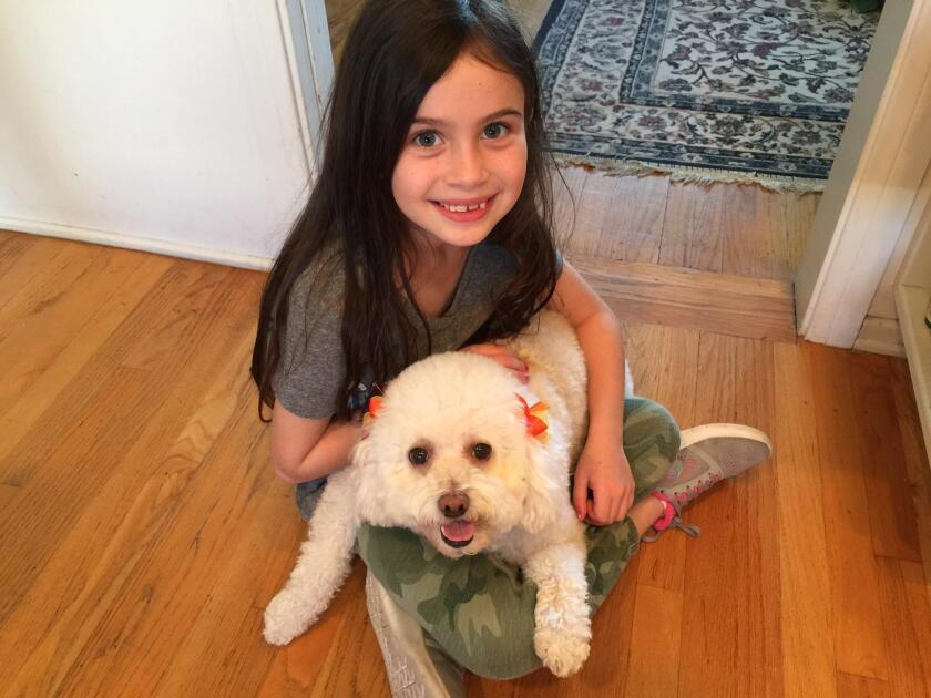 Granddaughter and Lily