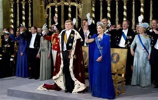 La coronación del rey Willem-Alexander