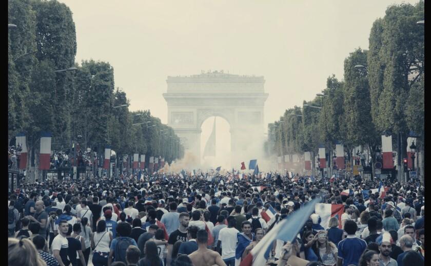 """A scene from France's Oscar submission """"Les Misérables."""""""