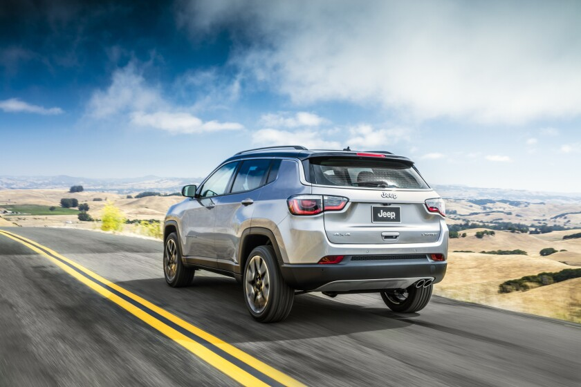 Jeep® Compass Limited.