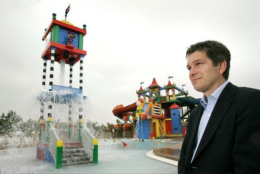 Nick Varney is CEO of Merlin Entertainment Group, which owns four Legoland parks.