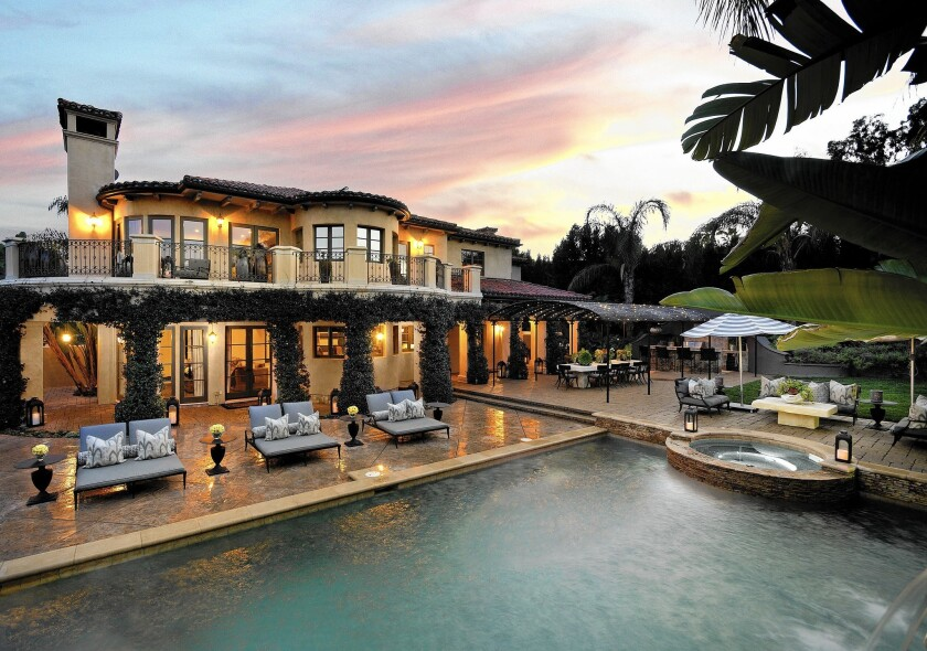 Tomer Fridman, real estate agent to the stars, handled the sale of Lamar Odom and Khloe Kardashian's $5.499 million home, above, to Kaley Cuoco-Sweeting and Ryan Sweeting.