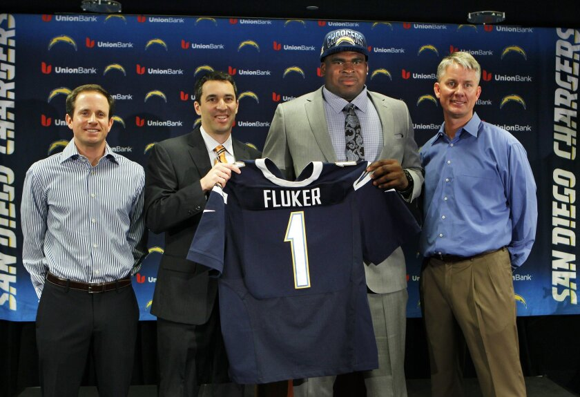 The first draft went smoothly for the Chargers, who are still in a state of transition.