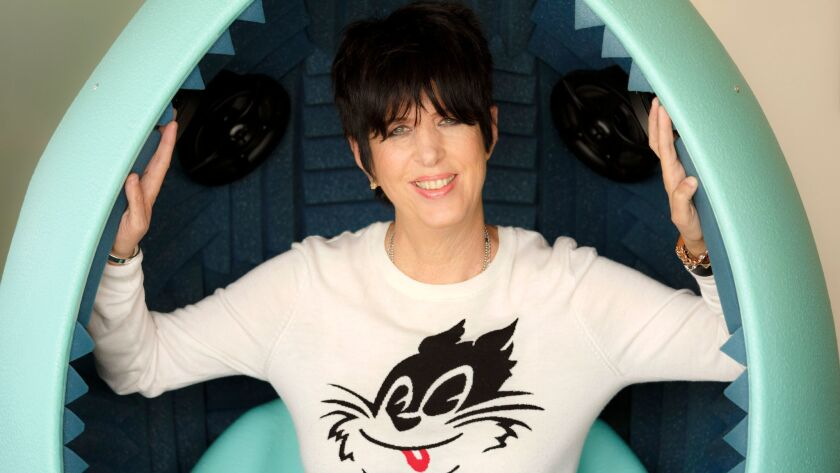 HOLLYWOOD - CA - FEBRUARY 17, 2015 - Diane Warren photographed at Real Songs studio, February 17, 20