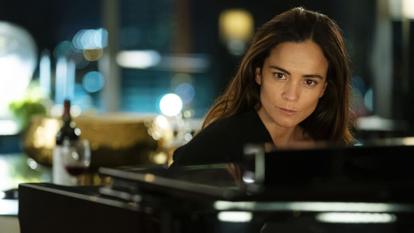 """Alice Braga """"Queen of the South"""" on USA."""