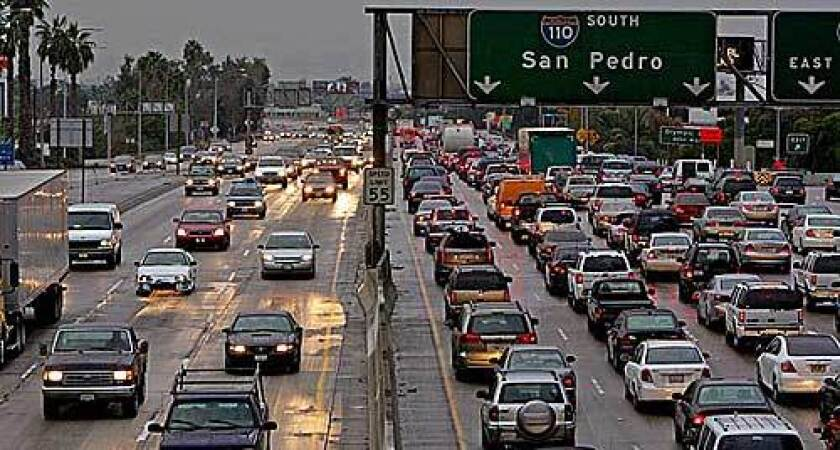 Gridlock on the 110 Freeway in downtown Los Angeles is a snapshot of how many motorists begin and end the day. So The Times tracked down a handful of commuters near the 10 interchange to hear their stories.