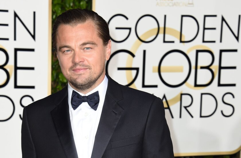 Leonardo DiCaprio wins Golden Globe for lead actor