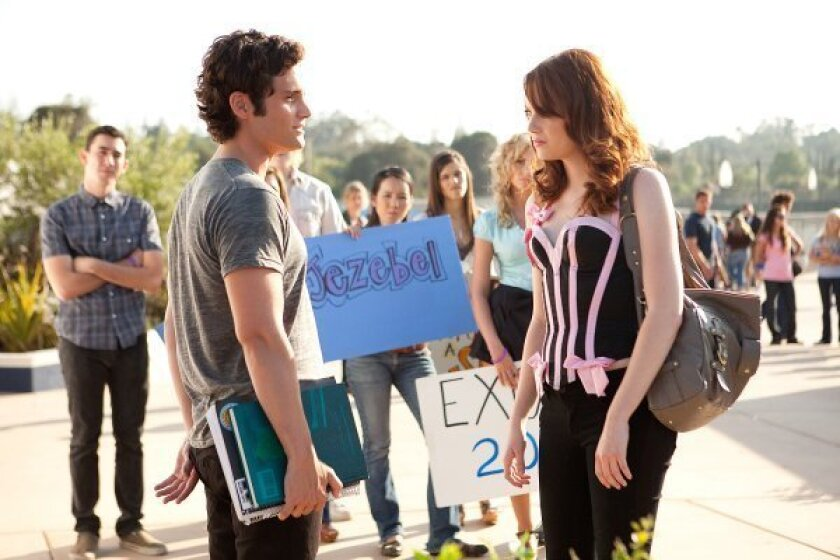 MOVIE REVIEW: 'Easy A' scores on all fronts as a witty Hughes homage - The  San Diego Union-Tribune