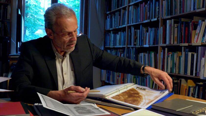 "Professor Horst Bredekamp in ""Secrets of the Dead: Galileo's Moon"" on PBS."