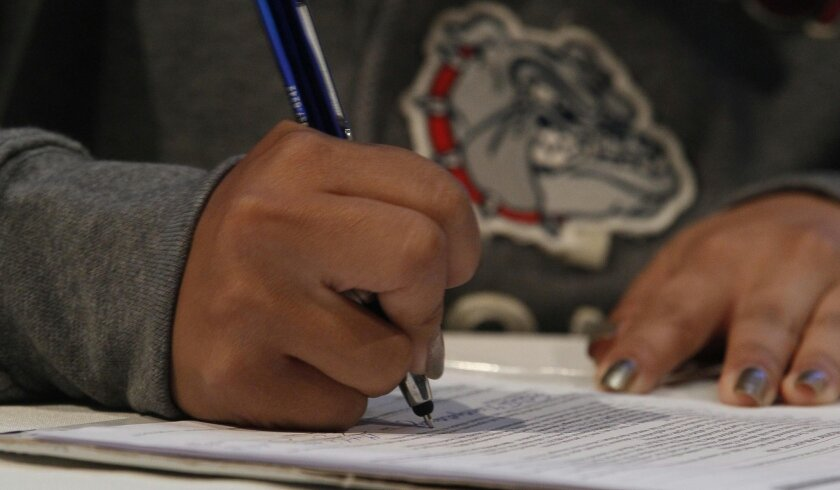 Dozens of high school athletes in the region are preparing to sign college letters of intent this year.
