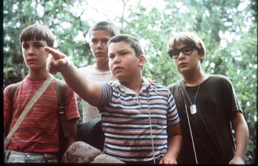 """Wil Wheaton, River Phoenix, Jerry O'Connell and Corey Feldman in """"Stand by Me"""" (1986), before any of them could drink -- or brew -- beer."""